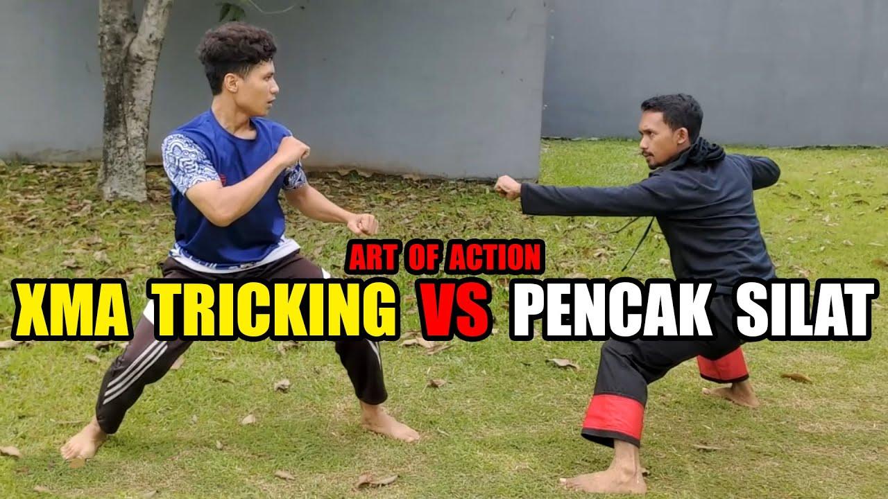 XMA Tricking VS Pencak Silat Tarung Epic Art Of Action 1