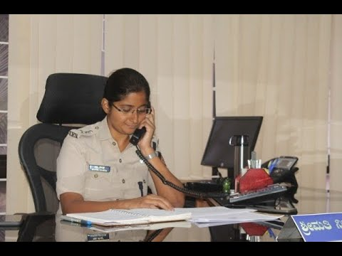 Nisha james took charge as new S.P to udupi district