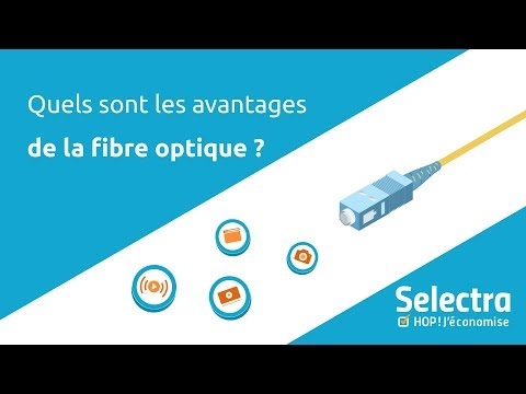 Quels sont les avantages de la fibre optique ?