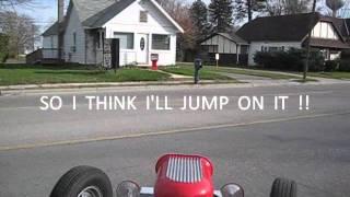 Cruising McDonalds & Road Test / 23 T Bucket Drag Car