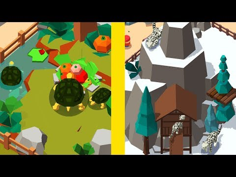 Idle Zoo Tycoon! MAX LEVEL ZOO EVOLUTION PART 2! Idle Zoo Tycoon 3D