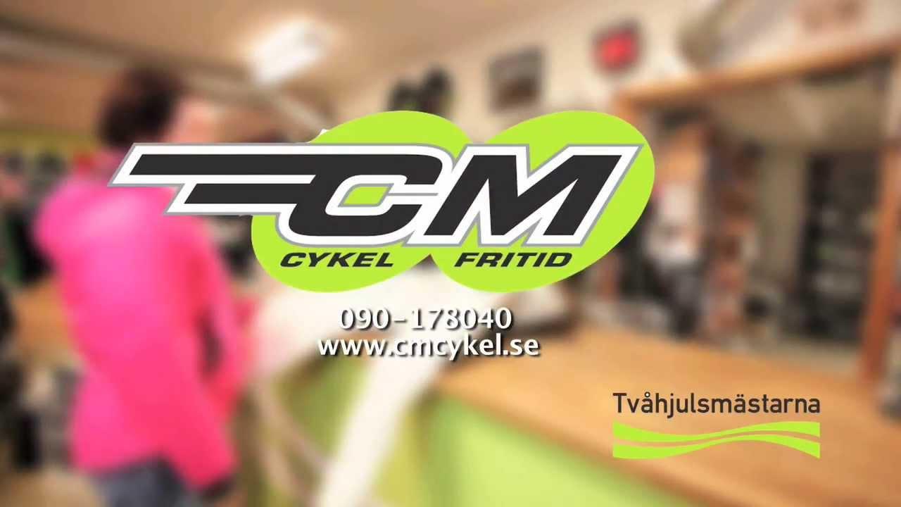 CM Cykel   Fritid Butiks reklam 1 - YouTube 7a07ddac5160e