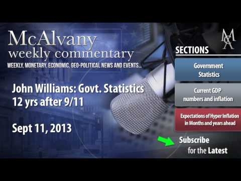 John Williams: Govt. Statistics 12 yrs after 9/11 | McAlvany Commentary