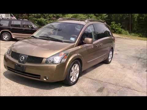 2004 Nissan Quest Brown for sale
