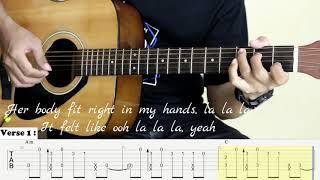 Señorita - Shawn Mendes, Camila Cabello - Fingerstyle Guitar - Tutorial TAB.