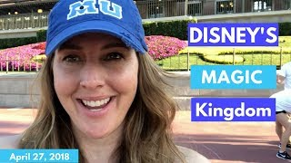 Walt Disney World Vlog: Day 3   Magic Kingdom Day   April 2018