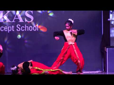 Siri Chandana Dance- Vikas The Concept School Annual Day 2017