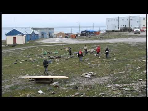 Summer emergency shelter in Nunavut