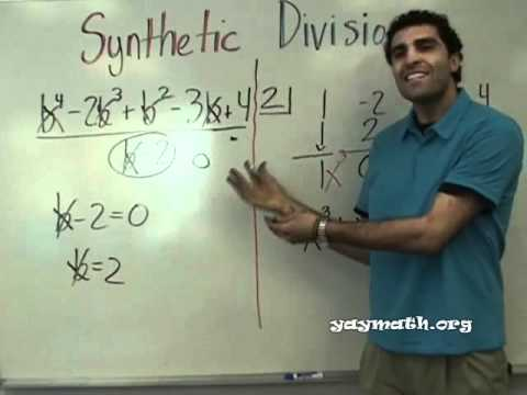 Algebra 2 - Synthetic Division