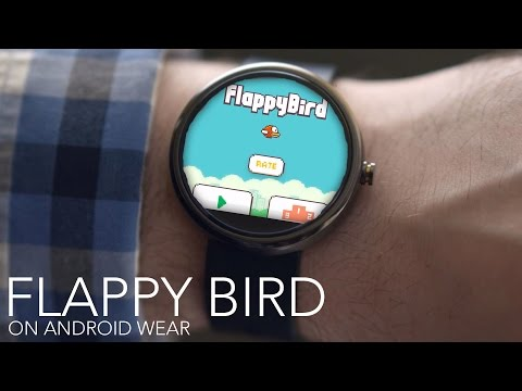 Flappy Bird on Android Wear