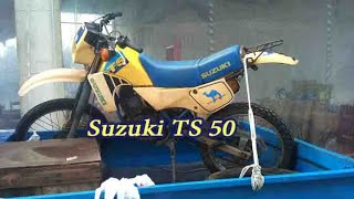 Repair Suzuki TS 50 Part A Greece