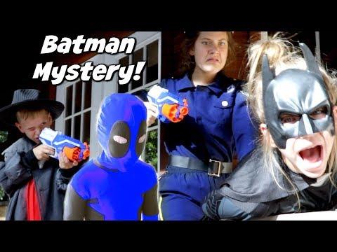 Batman Mystery! Detective Donut Solves the Batman Mystery! Hope and Noah SHK Comic