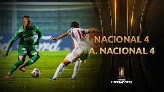 Nacional vs. Atlético Nacional [4-4]   RESUMEN   Fecha 2   CONMEBOL Libertadores 2021