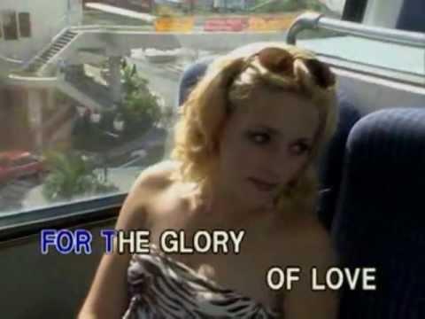 Peter Cetera - Glory Of Love (Karaoke / Instrumental) (VIdeoke)