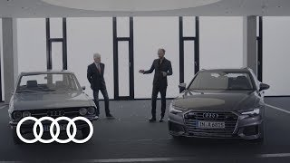 Before, after and beyond: 50 Years of the Audi 100 / Audi A6