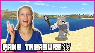 FINDING FAKE TREASURE!!!