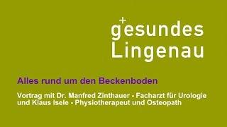 Gesundes Lingenau - Alles rund um den Beckenboden