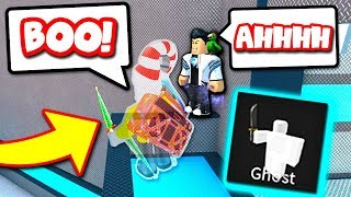 I TROLLED MY FRIEND WITH GHOST (Roblox Murder Mystery 2)