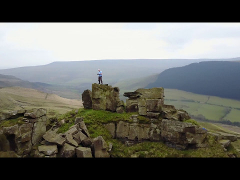 Alport Tower, Castles Ascent and Drone Flight