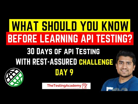 API Testing : What Should You Know Before Learning API Testing | API Testing Tutorials| Day 9 from YouTube · Duration:  4 minutes 15 seconds