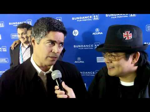 "Esai Morales star of ""Gun Hill Road"" interviewed by Luis Pedron Sundance Film Festival 2011"