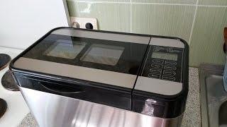 Обзор хлебопечки Rolsen RBM-1480 и выпечка хлеба из смеси Корнекс