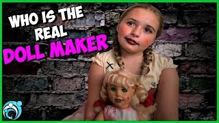 DollMaker Video Daughter is Acting Strange | S 1 Ep 4 | Thumbs Up Family
