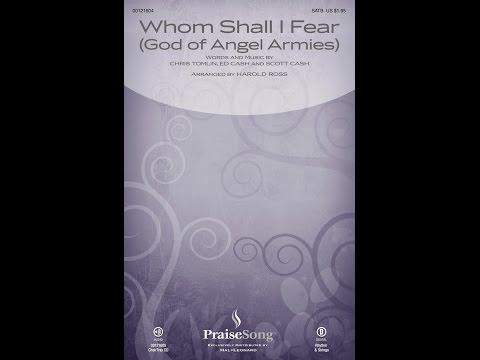 WHOM SHALL I FEAR (GOD OF ANGEL ARMIES) - Chris Tomlin/arr. Harold Ross