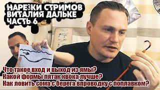 Ловля сома Ответы на вопросы Часть 6 нарезки стримов Виталия Дальке