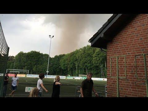 Tornado wütet im Westen von NRW