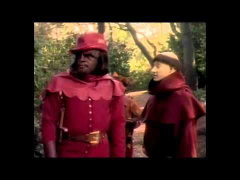 Worf is not a merry man