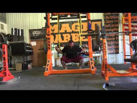 620 x 5 squat ROBB PHILIPPUS