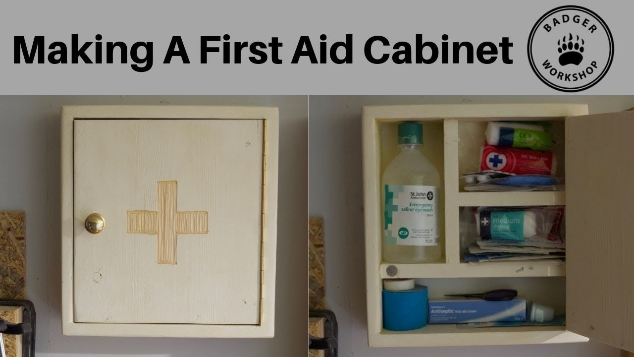 Making A First Aid Cabinet