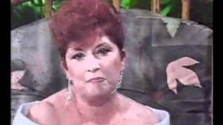 "Verónica Castro entrevista a Mirtha Medina en ""La Movida""1991"