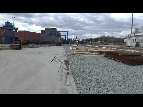 Kolejny etap przebudowy terminala intermodalnego PKP Cargo w Małaszewiczach