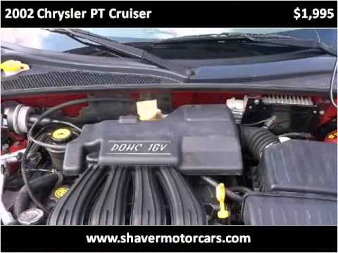 2002 chrysler pt cruiser used cars fort wayne in youtube for Shaver motors fort wayne