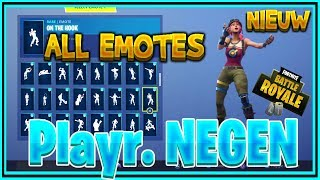 - NOUVEAU - BULLSEYE SKIN SHOWCASE WITH ALL FORTNITE DANES AND NEW EMOTES - Playr NINE