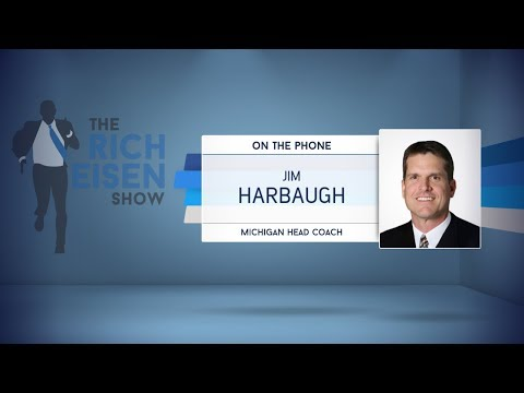 Michigan Head Coach Jim Harbaugh Dials in to The Rich Eisen Show | Full Interview | 9/25/17