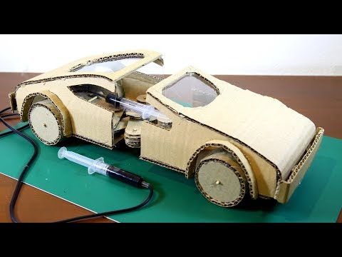 Cara membuat mobil kardus yang bergerak seperti cacing
