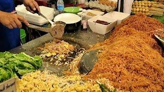 Best Pad Thai In Thailand. Bangkok Street Food