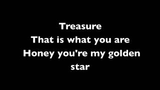 Treasure - Bruno Mars (Lyrics)