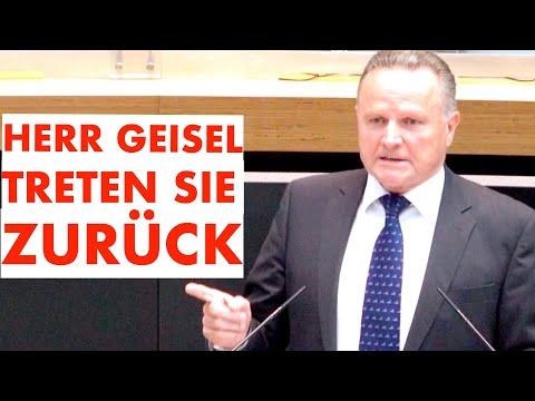 Herr Geisel, treten Sie zurück.