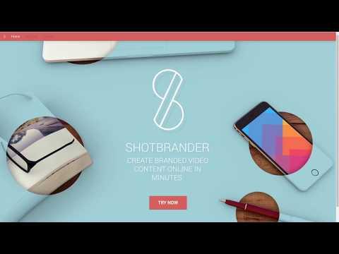 Shotbrander Product Demo 171114