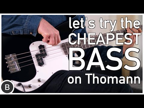 The Cheapest Bass on Thomann!