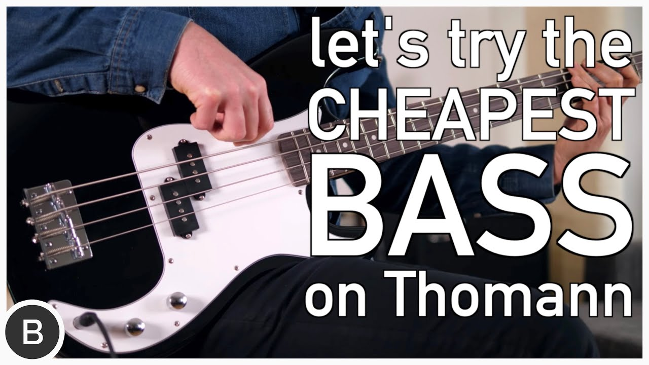 The Cheapest Bass on Thomann!