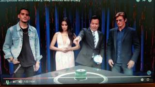 Catchphrase with Dennis Leary, Shay Mitchell and G-Eazy George M Churchill Shares