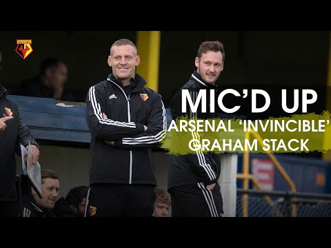 HILARIOUS ARSENAL 'INVINCIBLES' GRAHAM STACK MIC'D UP  🧤 |  BEHIND-THE-SCENES 🆚 IPSWICH