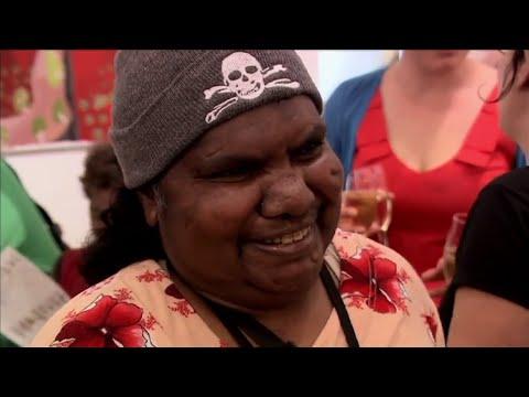 Award winning soft sculptures from Australian Aboriginal artists