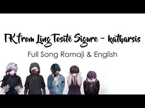 Tokyo Ghoul Re: Season 2 Op FULL - Katharsis Lyrics ENGLISH & ROMAJI