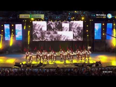 BALLET FOLKLORICO NACIONAL - Cosquín 2014 - TV Publica